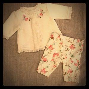 Set of 2 Newborn Floral